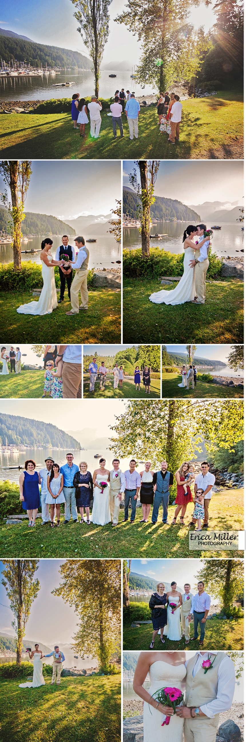 deep cove wedding
